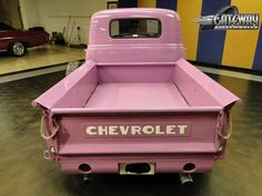Pink Chevy Truck