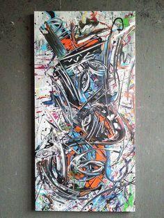 Gemälde abstrakt Acryl Bilder modern Bild XL Kunst Original Deko Wandbild