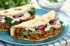 Gyros w picie Kebab, Cooking Recipes, Healthy Recipes, Tortilla, Pizza, Food To Make, Chicken Recipes, Dinner Recipes, Food And Drink