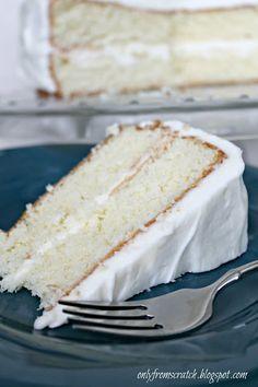 Gourmet white cake recipe