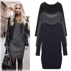 Autumn Dress,keep u warm & sexy at the same time.