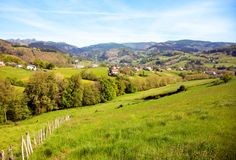 The Basque countryside in northern Spain