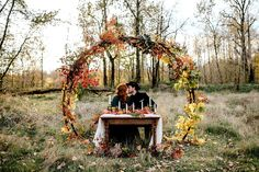 Newly engaged and planning a fall wedding?