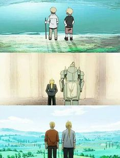 Fullmetal Alchemist Brotherhood - THE FEELS! >>>>Omg go ahead and break my heart why don't you?