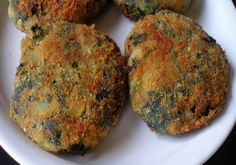 Spinach cutlets are crispy and delicious in taste.