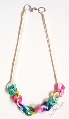 sibebo: Crochet necklace - no instructions, just inspiration