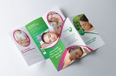 Tri Fold Spa Beauty Salon Brochure  Tri Fold And Brochures