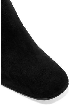 Prada - Suede Ankle Boots - Black - IT36.5