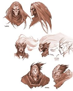 http://theconceptartblog.com/2011/11/21/concept-arts-de-darksiders-por-paul-richards/ ★ || CHARACTER DESIGN REFERENCES (www.facebook.com/CharacterDesignReferences & pinterest.com/characterdesigh) • Do you love Character Design? Join the Character Design Challenge! (link→ www.facebook.com/groups/CharacterDesignChallenge) Share your unique vision of a theme every month, promote your art, learn and make new friends in a community of over 16.000 artists who share your same passion! || ★