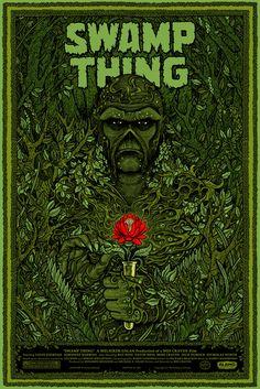 Mondo: The Archive | Florian Bertmer - Swamp Thing, 2011