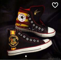 In love with these harry potter inspiered shoes.