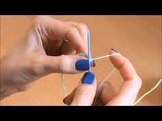 {Tricot} Le point de groseille