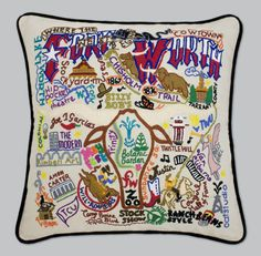 State Pillows: Fort Worth Pillow