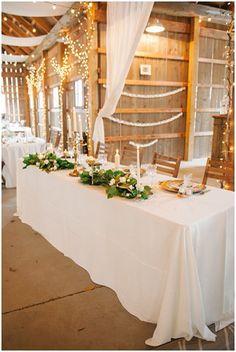 Barn wedding reception | Amanda Adams Photography | see more at http://fabyoubliss.com