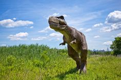 Life-sized moving dinosaurs! SO COOL!!! | Things to Do In New Jersey - Field Station: Dinosaurs!