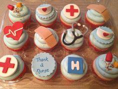 Nurse's Week Cupcakes - Cake by Tonya