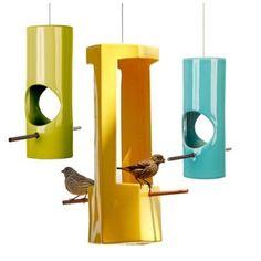 GAINEY Ceramic Bird Feeder - round