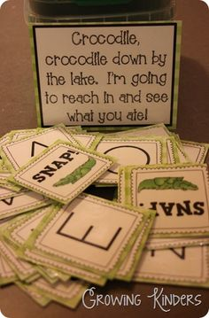 My kids would LOVE this!! Great game for letter recognition