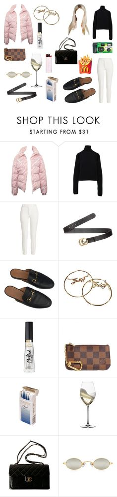 """Untitled #602"" by ps-ec ❤ liked on Polyvore featuring Christian Dior, Calvin Klein, Joseph, Gucci, Juicy Couture, Louis Vuitton, Riedel, Fujifilm and Chanel"