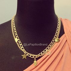 Limited edition Hollywood Necklace @ PhP 1,350. Only 1 pc. available.  To place an order, please text/iMessage/Viber/WhatsApp/WeChat 0999-8894770 or fill out an order form at http://facebook.com/LePapillonAccessories.