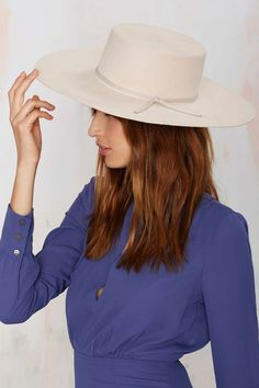 Brixton Buckley Wool Hat - Cream - Accessories | Hair + Hats