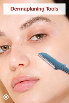 Give your skin spa-like feels with a dermaplaner & clear skin tips that are easy to include in your skin care routine. Beauty Care, Beauty Skin, Clear Skin Tips, Body Treatments, Face Skin, Skin Makeup, Makeup Tips, Skin Care, Feels
