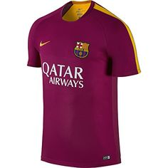 Nike Fcb Flash Pm Ss Top 2 - Camiseta Fútbol Club Barcelona 2015 2016 para 9af98a4d24cfc