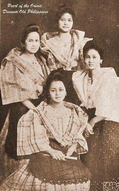 Old Philippines 003 Philippines Fashion, Philippines Culture, Filipino Fashion, Filipino Culture, Filipina Beauty, Filipiniana, Vintage Photos, Vintage Photographs, American War