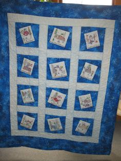 Mary Vogel's quilt.