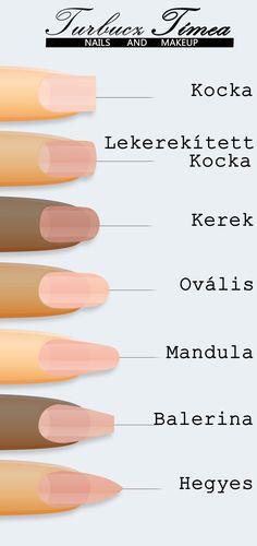 Cute Nail Art, Cute Nails, Simple Nail Designs, Nail Art Designs, Winter Nails, Summer Nails, Basic Nails, School Nails, Nail Length