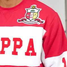 Kappa Alpha Psi Fraternity Crew Neck Fleece - Greek - Shop Kappa Alpha Psi Fraternity, Dom, Old School, Greek, Crew Neck, Lifestyle, Sweatshirts, Stuff To Buy, Shopping