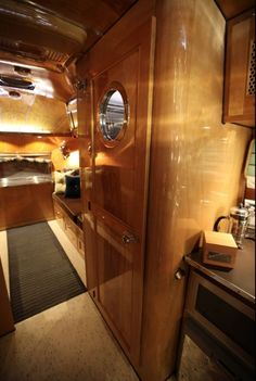 This 1959 Airstream Traveler by Hollywood Vintage Airstream won the People's Choice Award at the 2016 Vintage Trailer Show.