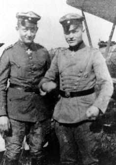 Werner Voss and Manfred Von Richthofen.