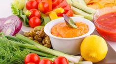 Receita de patê de legumes com azeitonas