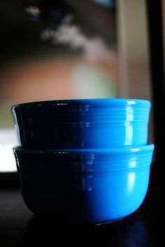 """The Pioneer Woman on Fiestaware   """" My second favorite color is Peacock, a deep, gorgeous aqua. This is the Gusto bowl."""" ~ Ree Drummond"""