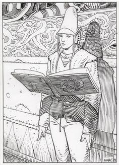 #moebius #illustration #comics                                                                                                                                                                                 More