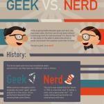 Geeks vs. Nerds (Infographic)