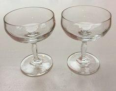 piscine-lasit, käytetään Ranskassa trendikkäisiin jääpalajuomiin, korkeus 12.5cm, 4 kpl