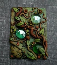 Droplets in the forest ACEO by MandarinMoon