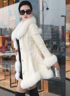 42a153a38 54 Best Fur Winter Coat, Jackets & Parkas images in 2019