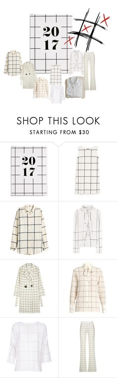 """CHECK MATE"" by michelle858 ❤ liked on Polyvore featuring MANGO, Tory Burch, Rejina Pyo, Valentino, FABIANA FILIPPI and 10 Crosby Derek Lam"