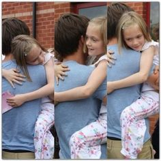 Louis and one of the twins<3