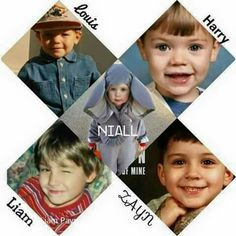 Little One Direction as adorable kids