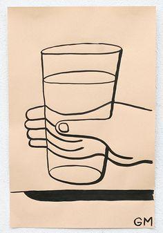 GEOFF MCFETRIDGE, DRAWING, ILLUSTRATION, GRAPHIC, INK, ART