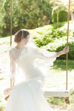Sareh Nouri Estelle Wedding Dress | Millie B Photography | see more on http://burnettsboards.com/2014/02/subtly-seductive-estelle-wedding-dress/