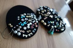 Ohr(ring)stecker - Aufbewahrung DIY super easy!! Jewelery DIY organisation