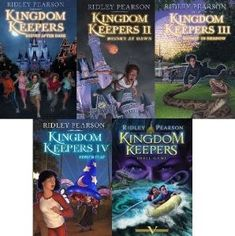 Kingdom Keepers by Ridley Pearson | Community Post: 14 Must Read Books For Disney Lovers