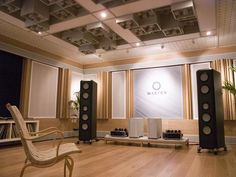 Audiophile listening room
