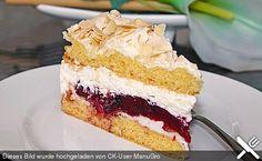 Baiser - Torte mit Himbeer - oder Brombeercreme (Rezept mit Bild) | Chefkoch.de