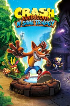 Mario Bros, Crash Bandicoot Characters, Instant Gaming, Xbox Game, Ps4, Playstation, Console Xbox One, Cloverfield 2, Dc Anime